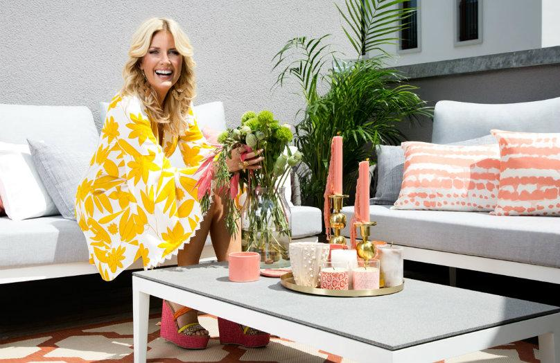 Z wizytą u Jenny Knäble — letnia aranżacja balkonu