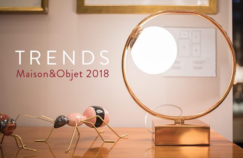 Trendy 2018 prosto ze styczniowych targów Maison & Objet