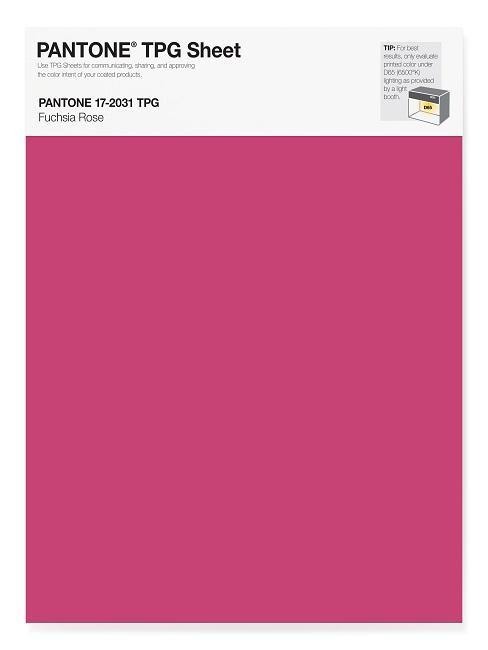 Pantone Trendfarben Fuchsia Rose