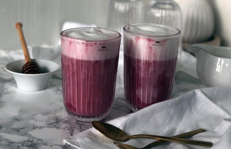 It-Getränke: Rote Beete Latte