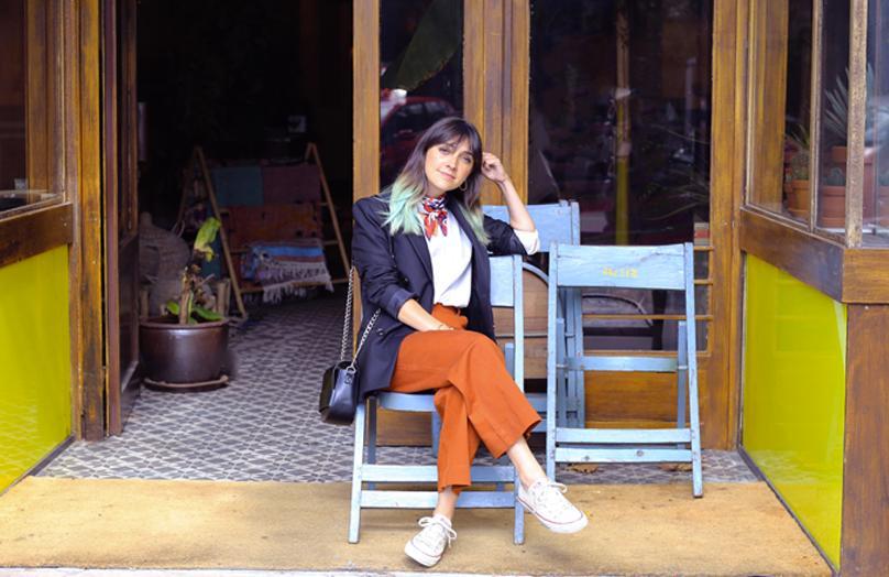Interview parisienne - Marion Malabre, styliste photo