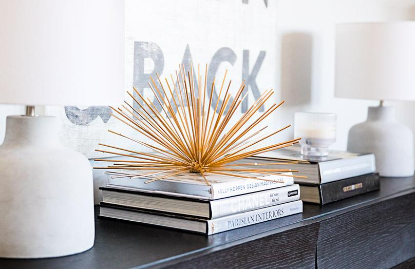 DIY: Gouden dressoir decoratie