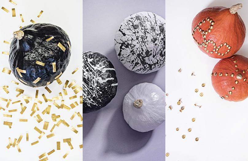 DIY: 3 pomysły na dekoracje z dyni