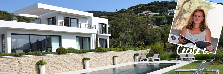 Villa vue sur mer à Sainte-Maxime