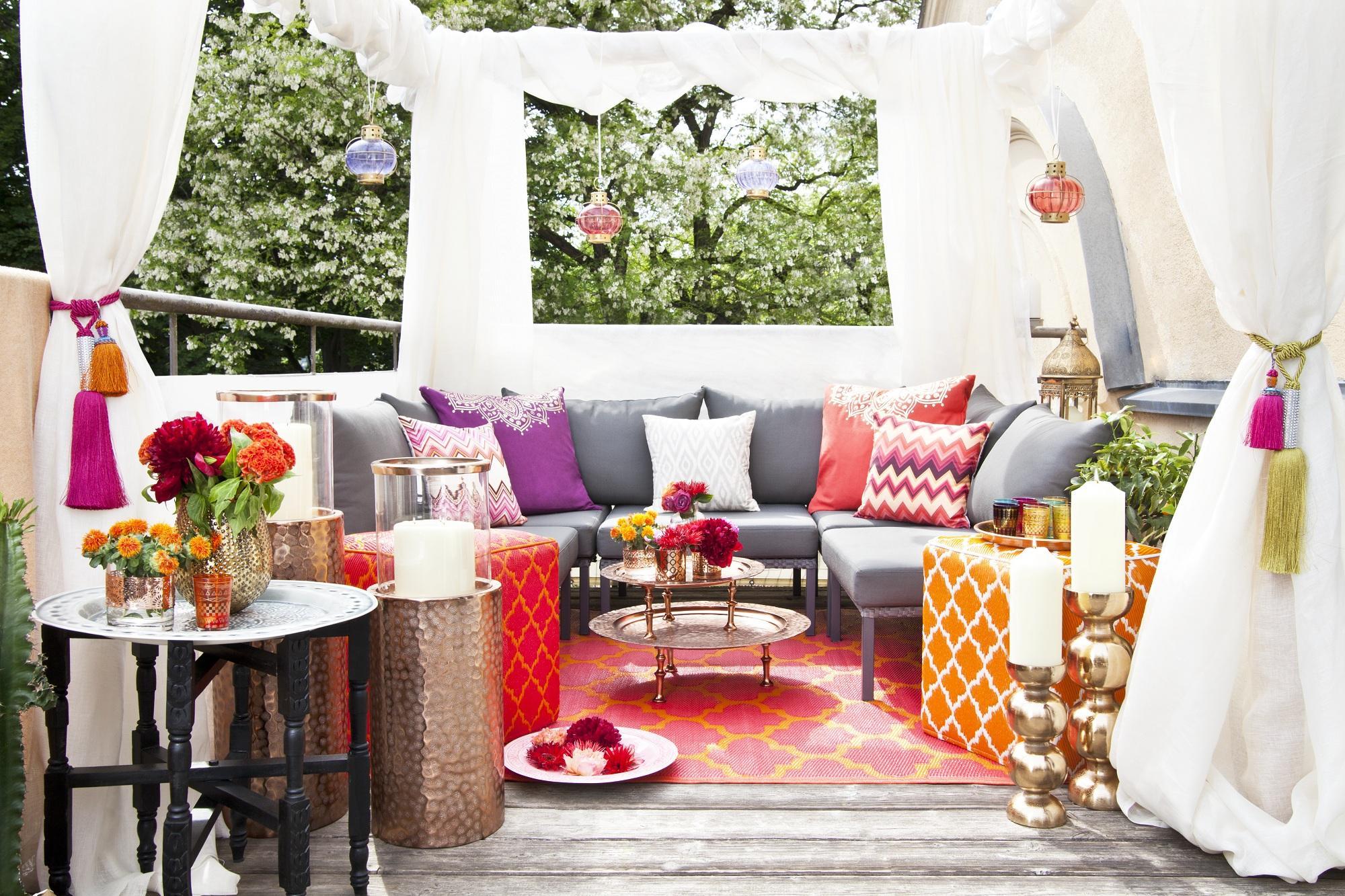 Come organizzare un party in terrazza: la Summer Lounge di Delia