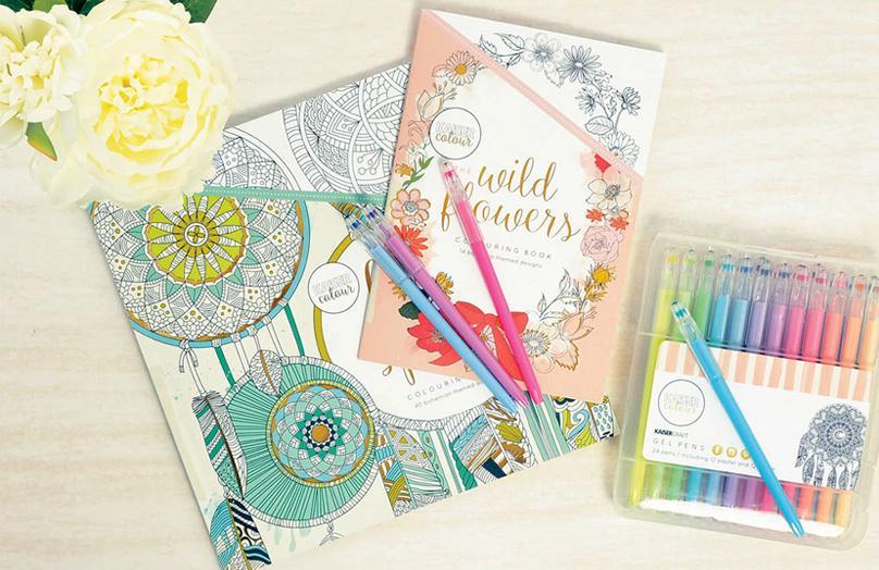 Art Theraphy - Libri da colorare per adulti