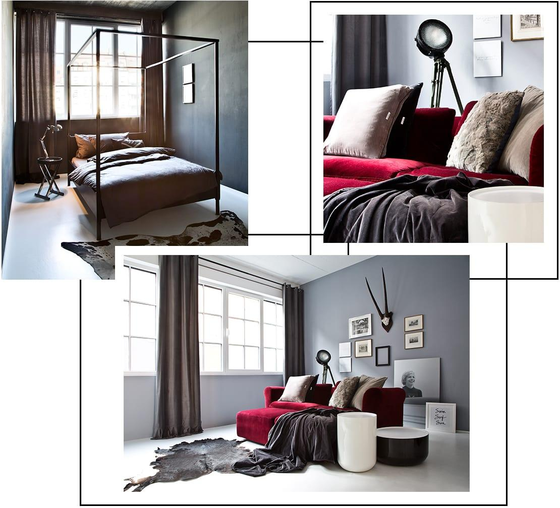 kolory w sypialni