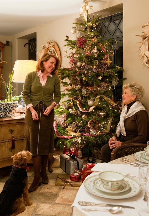 Weihnachtsidylle in England