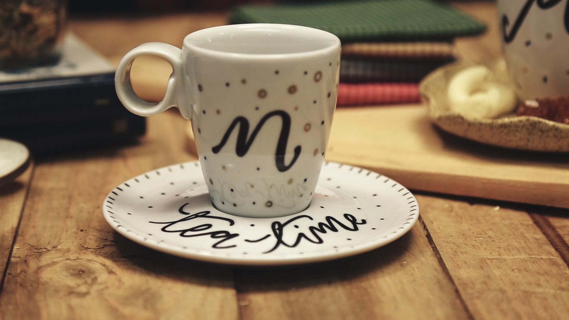 Fertig ist Ihr persönliches Tee Set! Sieht das nicht toll aus?