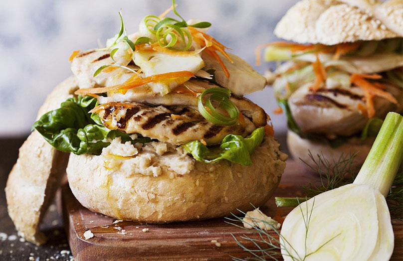 Chutné a zdravé burgery domácí výroby