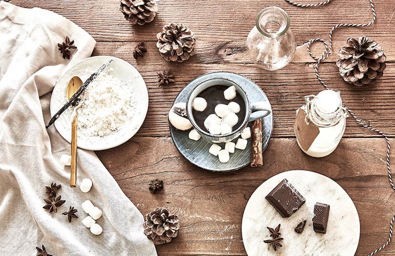 Süß-würzig: Heiße Schokolade