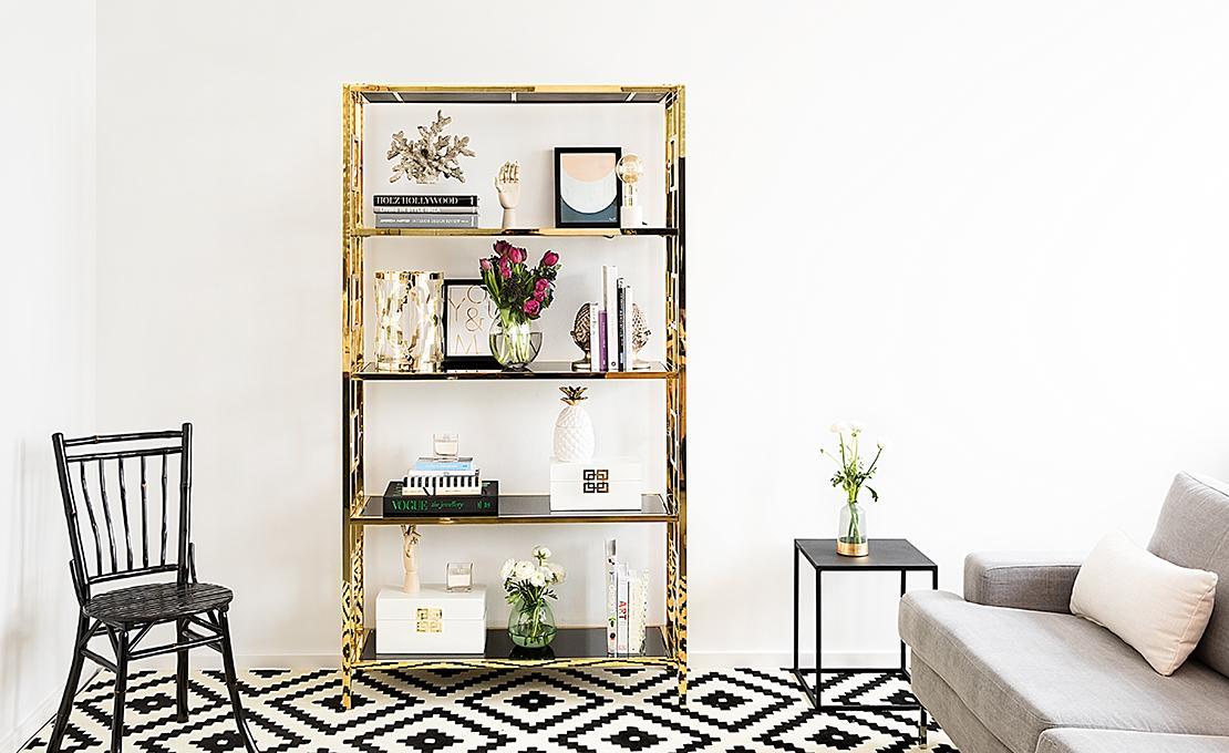 cómo decorar tu estantería con estilo