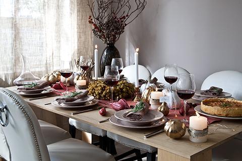 Dressez une table d'automne