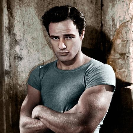 Marlon Brando Stile di un anti-divo
