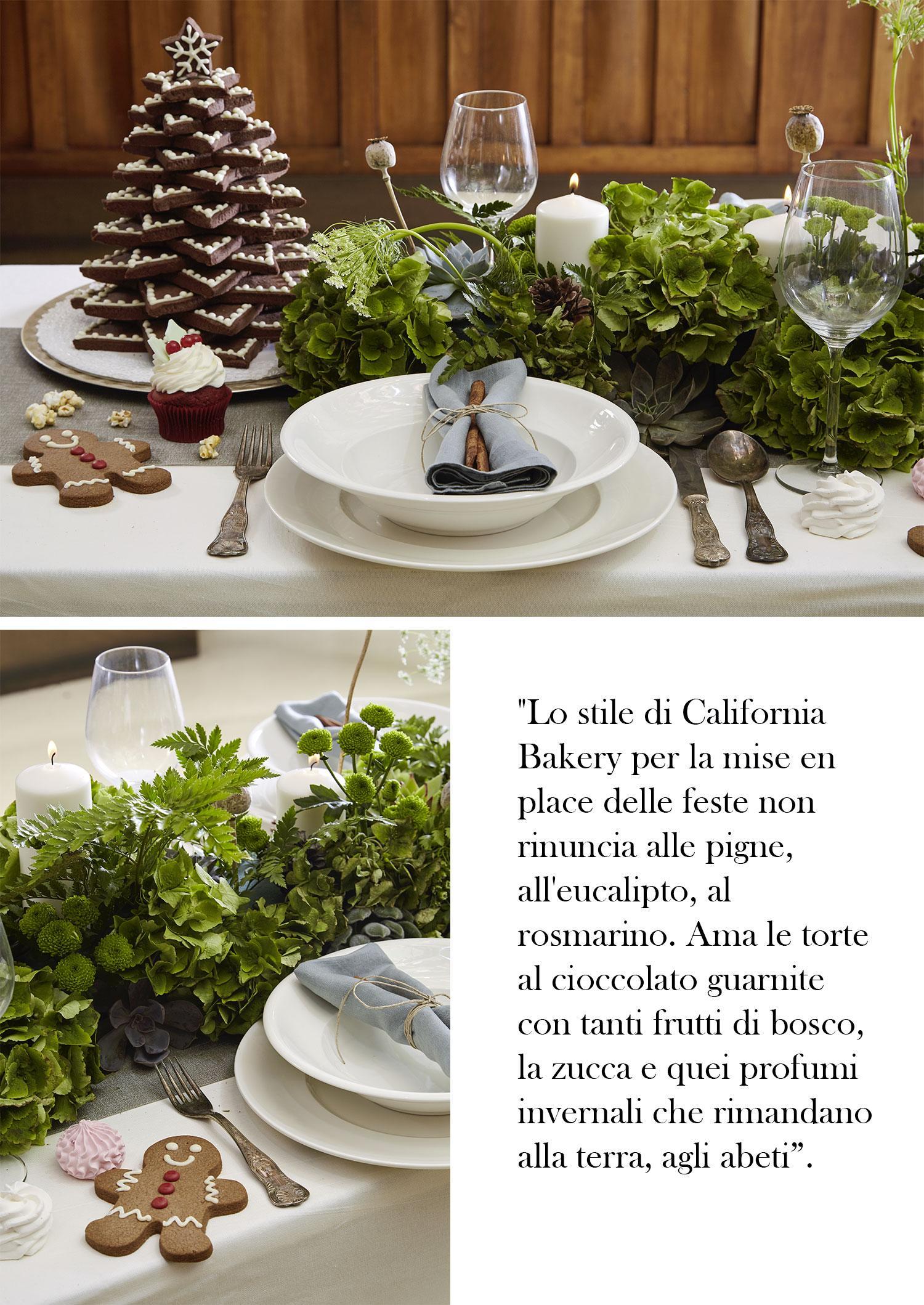 California Bakery, Dolci, Ricette, Milano, Natale, Torte