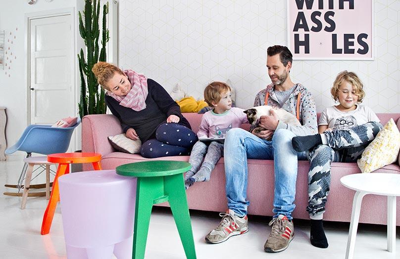 Thuis bij Anki & Casper van Zilverblauw
