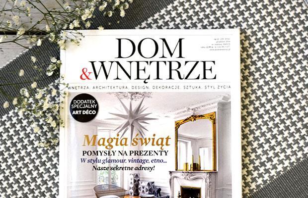 Magiczny Grudzień w magazynie Dom&Wnętrze