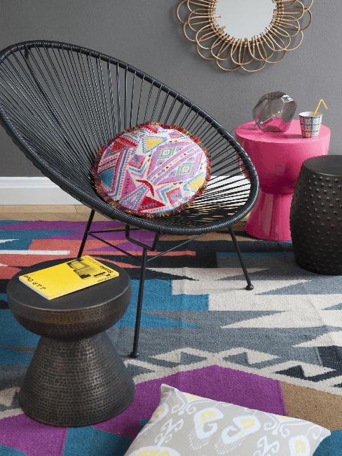 Kissen und Teppich im Folklore Style