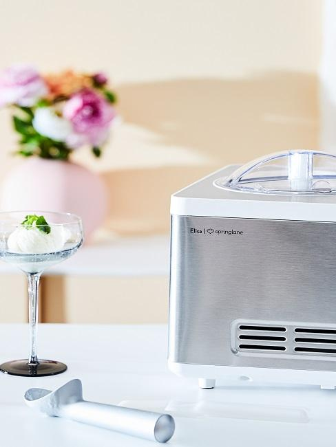 Máquina para hacer helados