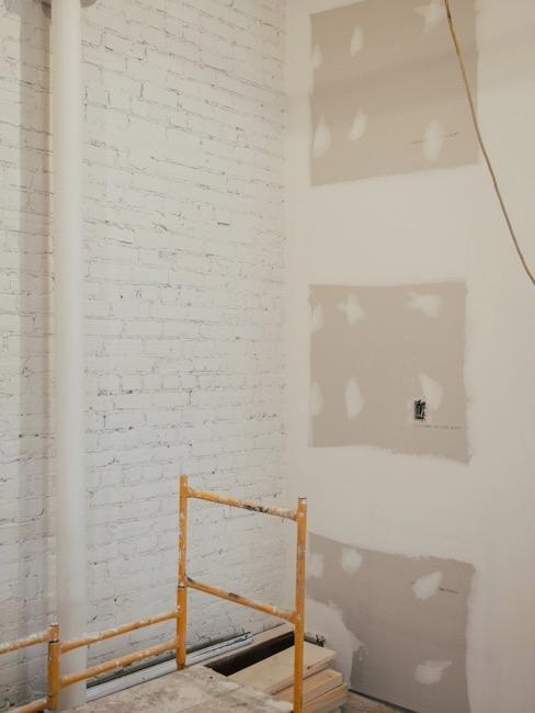 Wohnung während Renovierung