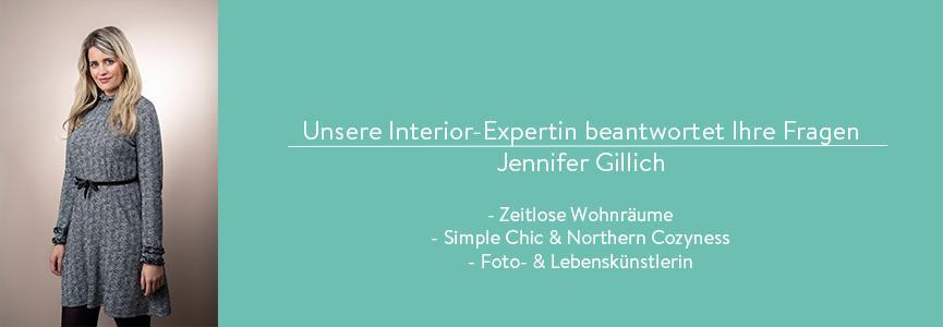 Interior Expertin Jennifer Gillich beantwortet Fragen zum Sofa-Kauf
