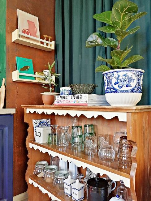 Przedmioty vintage w mieszkaniu autorki bloga Style Recital