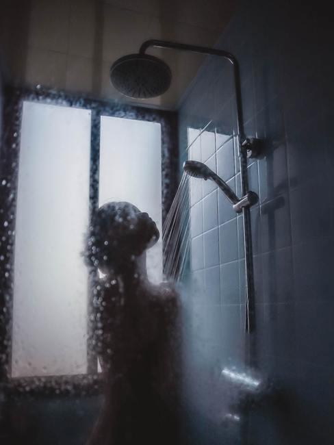 ducha de tipo industrial