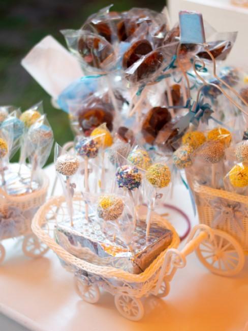 dulces para una fiesta