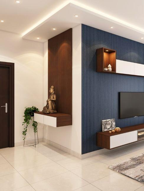 ingresso moderno con buddah