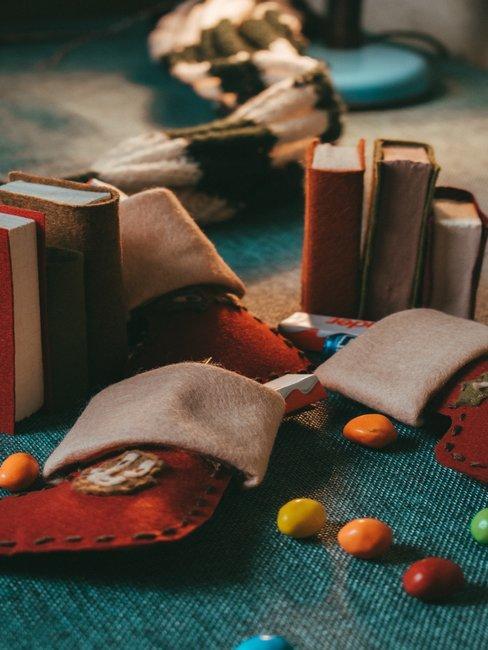Boeken en Sweets op Tafel