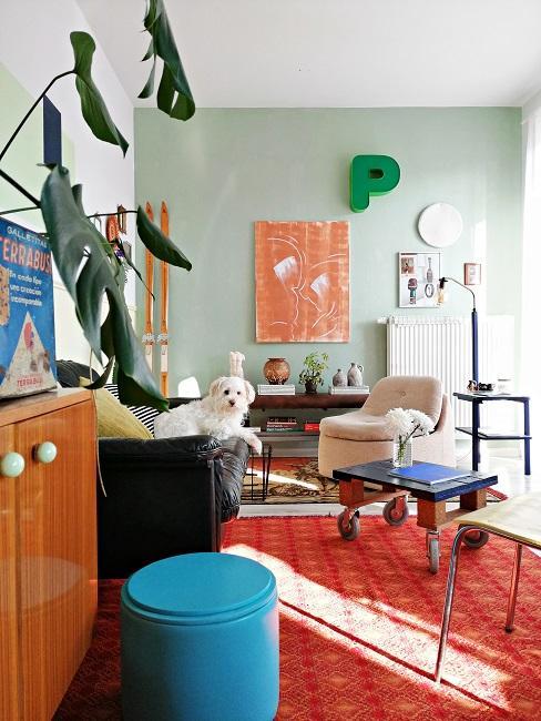 Kolorowy salon blogerki Style Recital