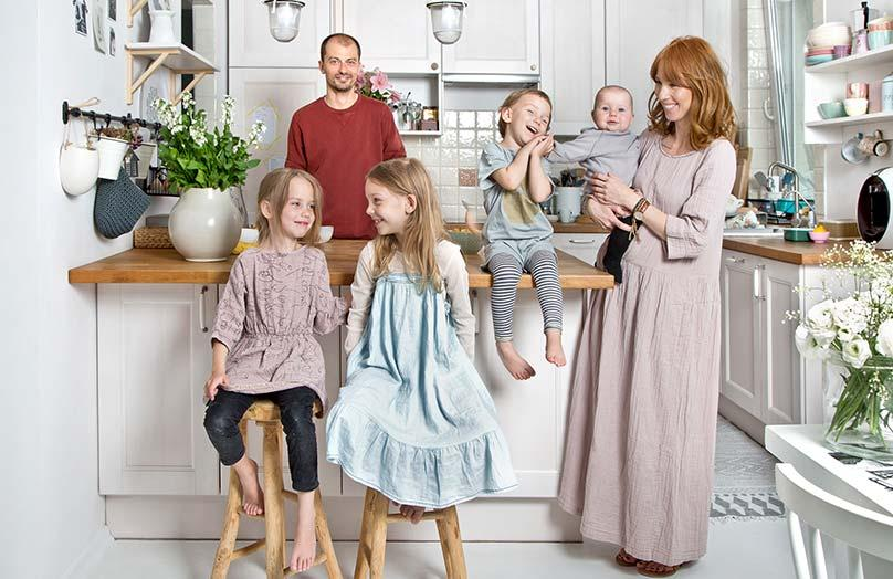 Rodinná oáza ve Varšavě