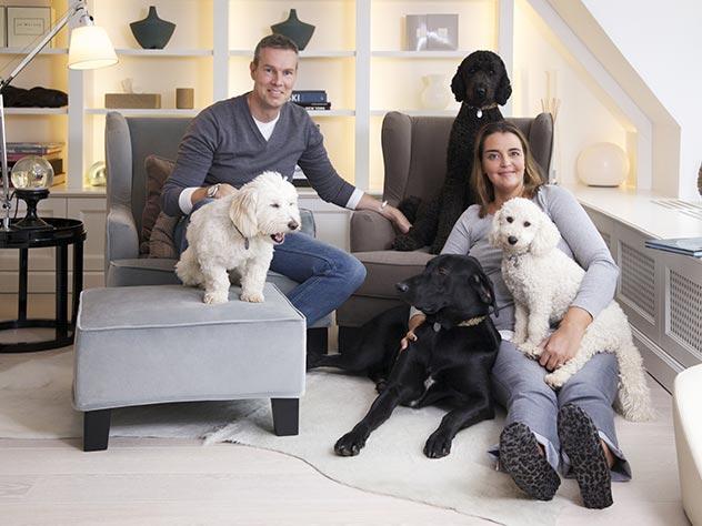 El camino a la felicidad: casa y mascotas