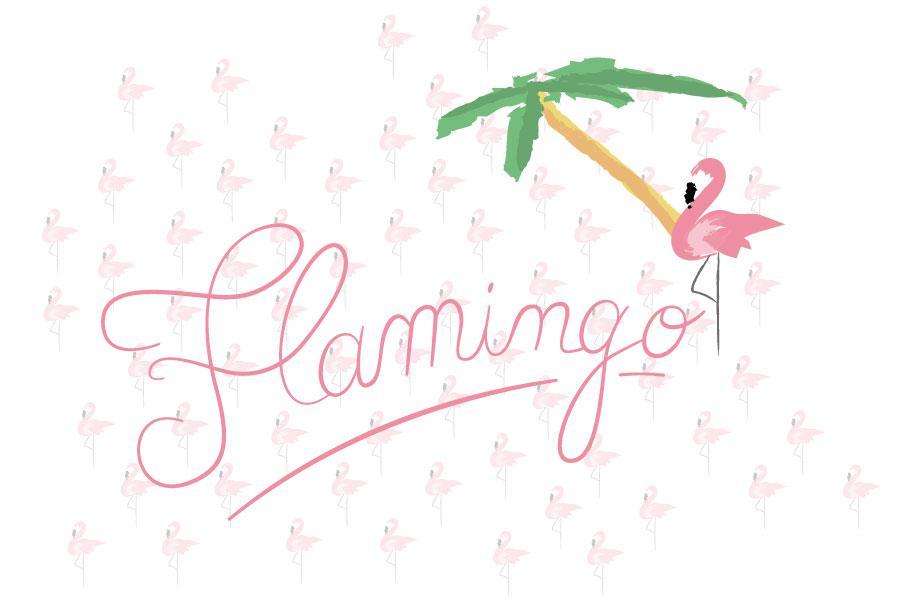 Pink flamingo : la tendance du printemps !