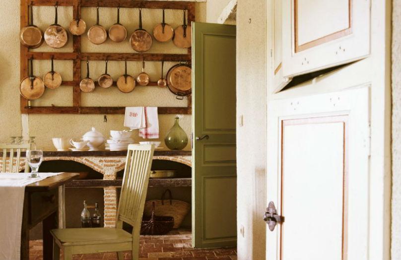 Una cucina in stile toscano
