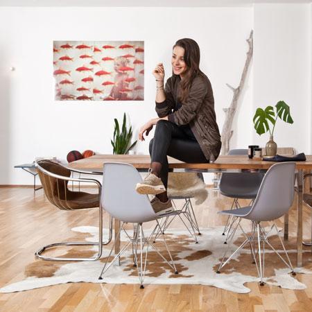 Doreen Schumacher: casa in stile hipster a Berlino