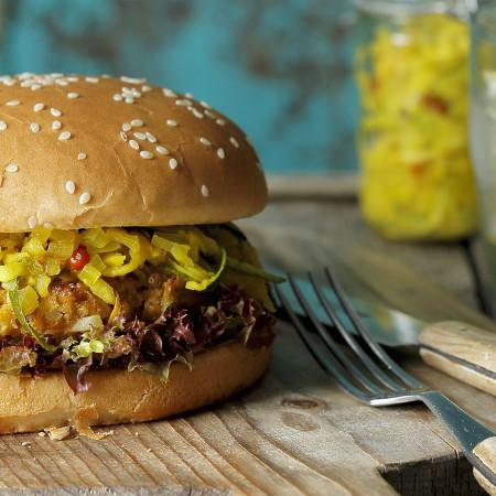 Pyszne i zdrowe burgery domowej roboty