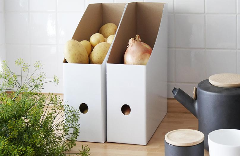 Papierowe segragatory do kuchni!