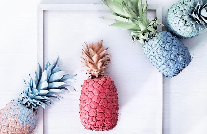 DIY Ananas-Deko