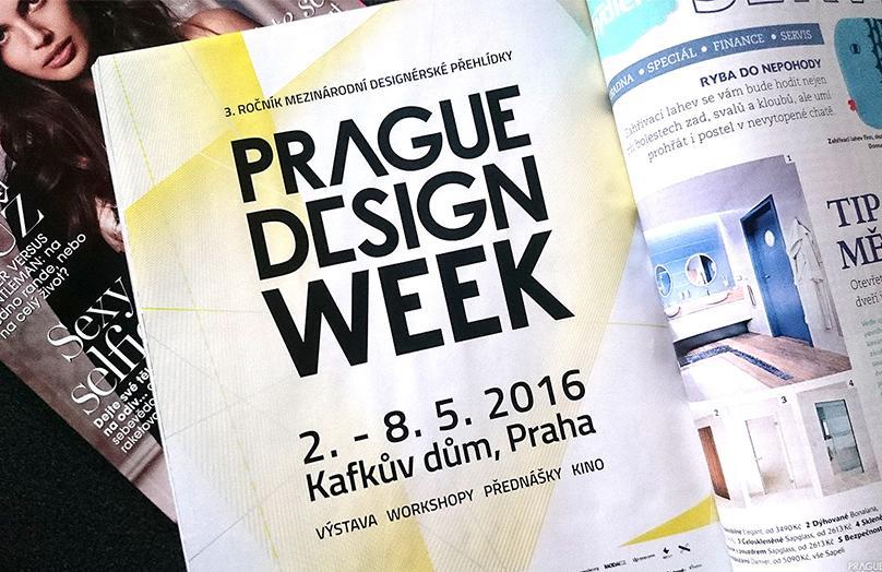 Ohlédnutí za akcí PRAGUE DESIGN WEEK 2016