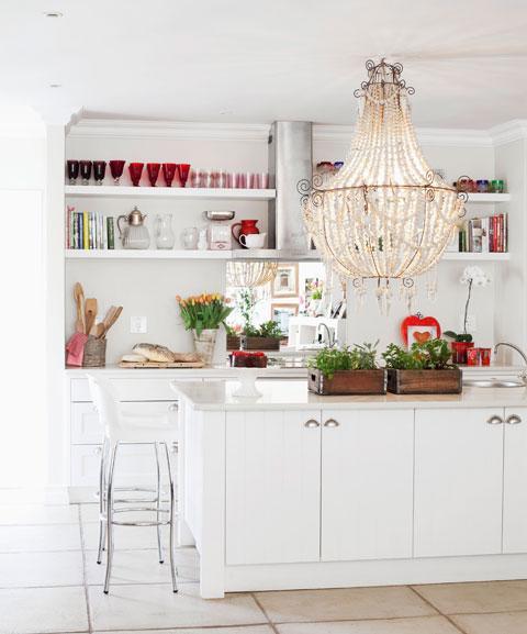 Glamour-Update für die Küche