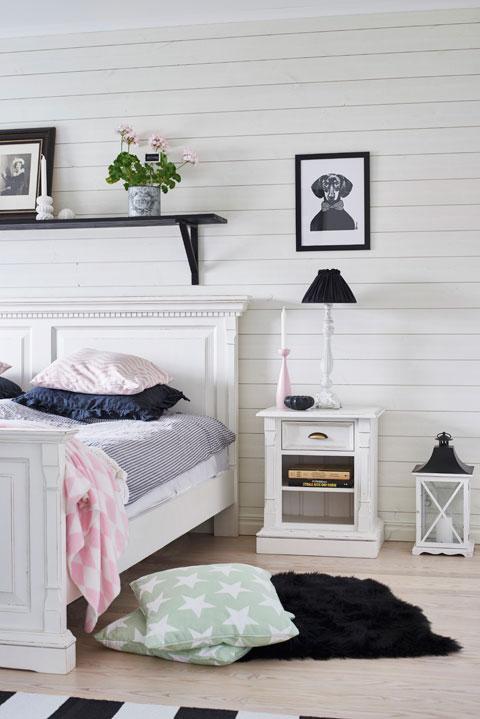 Schlafzimmer im Scandi Style