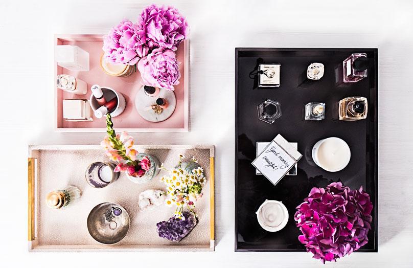So dekorieren Sie mit Parfums