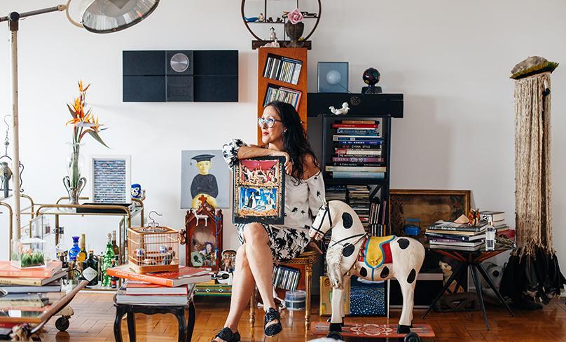 Lilly Malta, la recolectora de arte de São Paulo