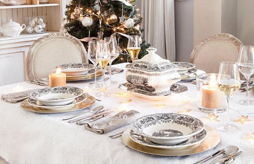 Cómo decorar la mesa de Navidad: ideas y protocolo