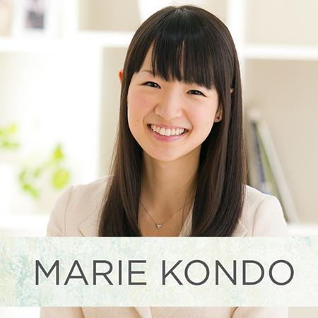El método del orden de Marie Kondo