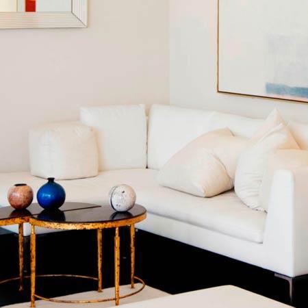 Cómo hacer brillar un interior minimalista