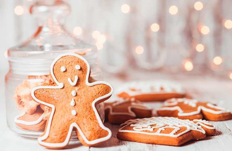 Dulce Navidad: galletas de jengibre