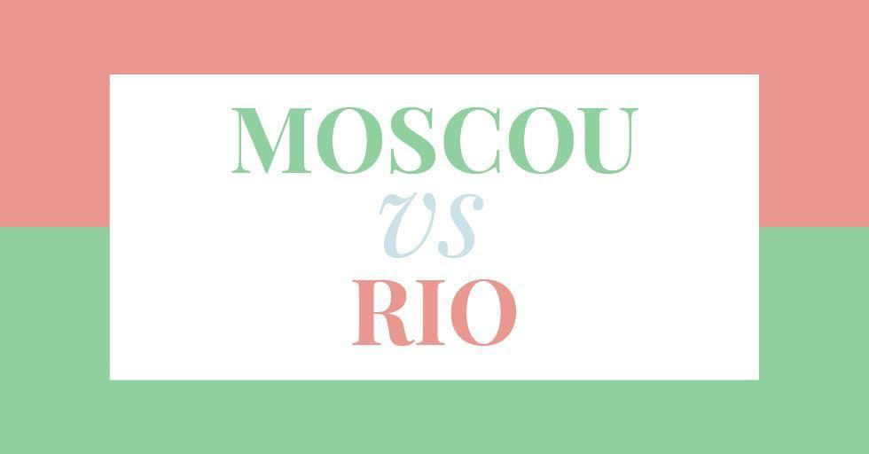 Moscou vs Rio