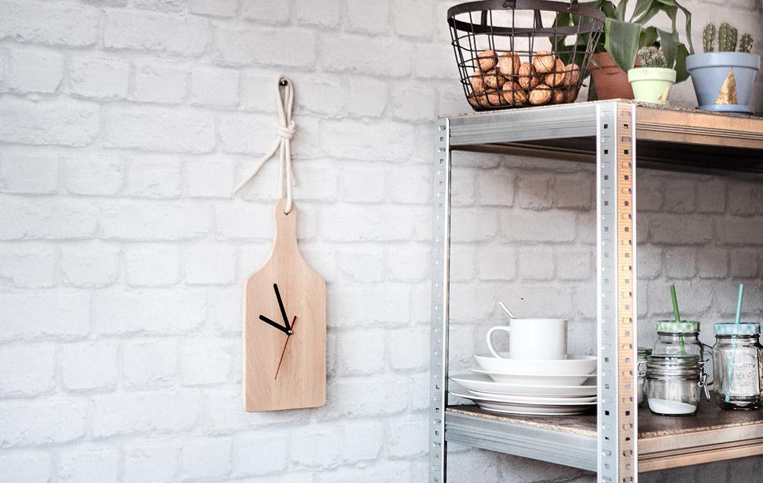 DIY_Horloge de cuisine